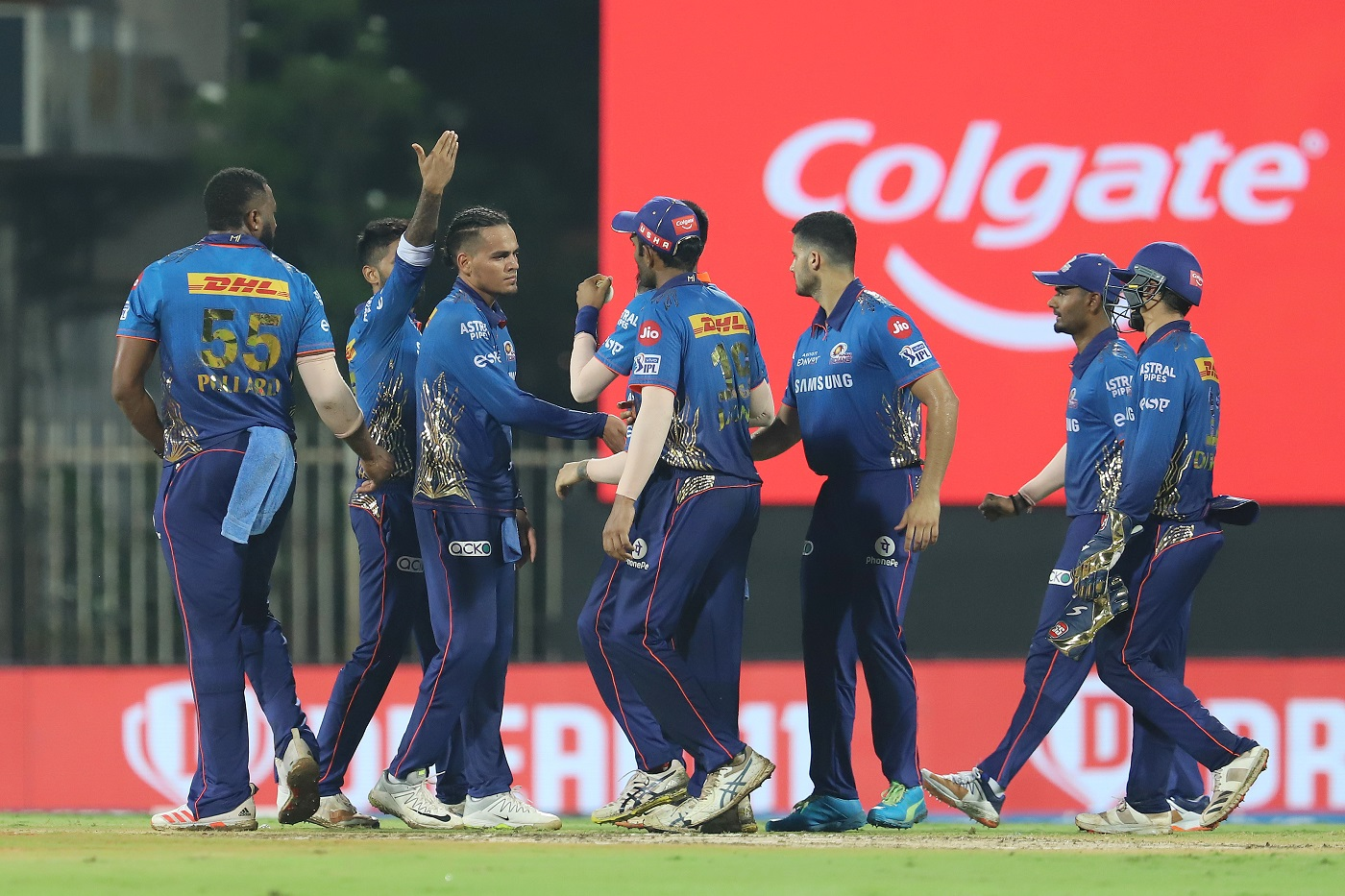 MI are placed 4th on IPL 2021 points table | BCCI-IPL