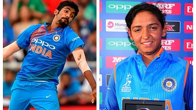 Jasprit Bumrah, Harmanpreet Kaur and Anil Kumble win big at Mahindra Scorpio TOISA 2018