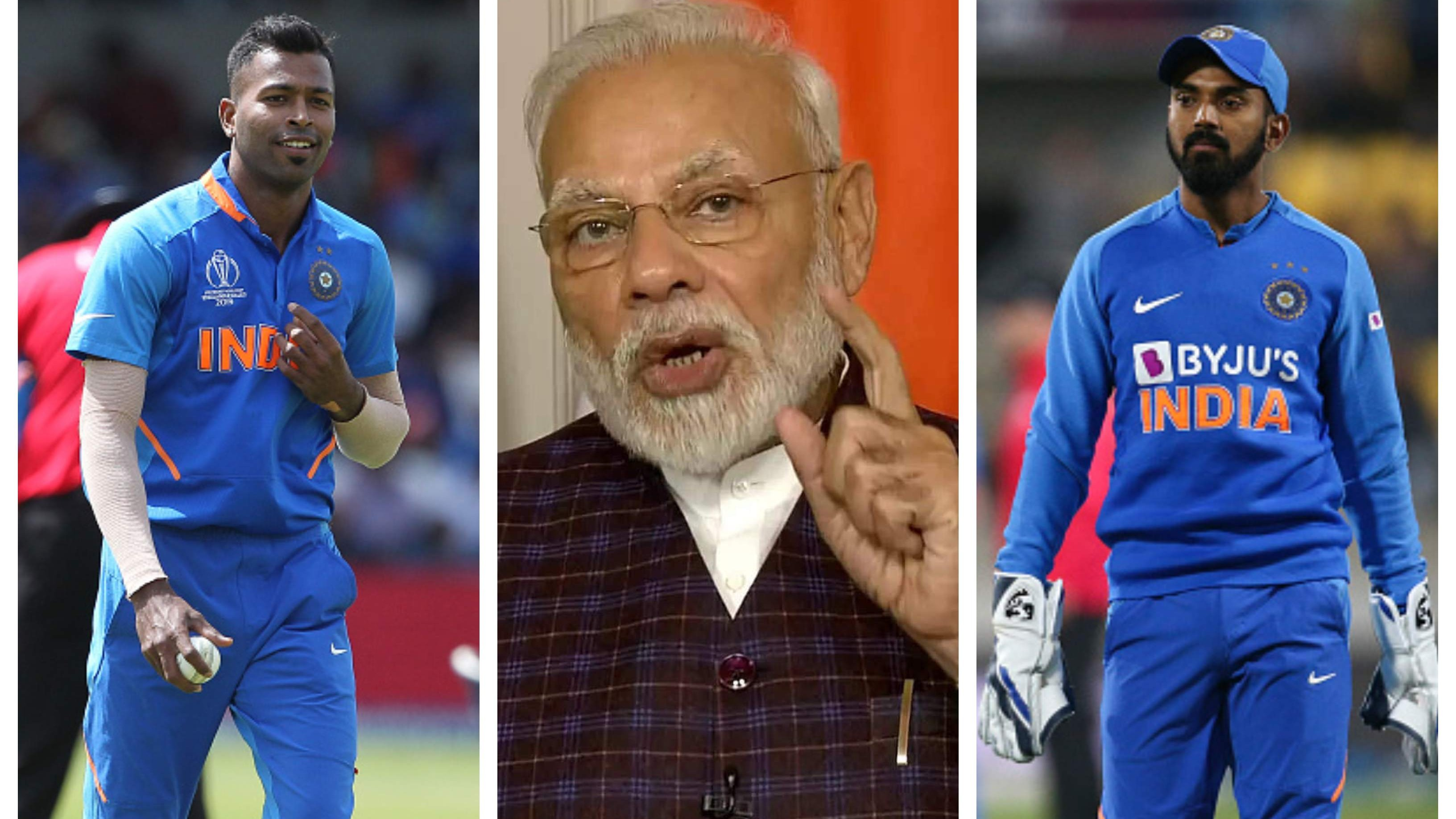 KL Rahul, Hardik Pandya support PM Modi's call to light candles on Sunday