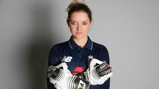 England women's cricketer Sarah Taylor again goes buff for a bold new photoshoot