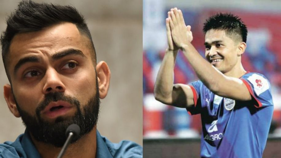Watch: Virat Kohli urges fans to cheer for the India football team by filling up the stadiums