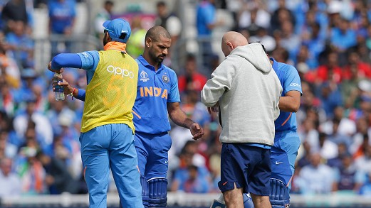 CWC 2019: India sweat on Shikhar Dhawan's fitness ahead of New Zealand clash