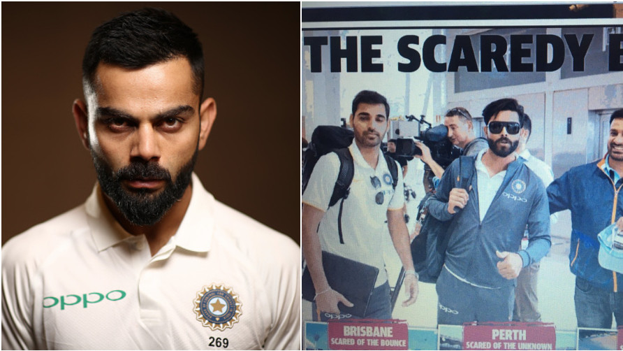 AUS v IND 2018-19: Australian fans criticizes their media for insulting Team India