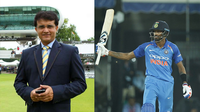 ENG vs IND 2018:  I think Pandya has got the ability to become a great all-rounder, says Sourav Ganguly