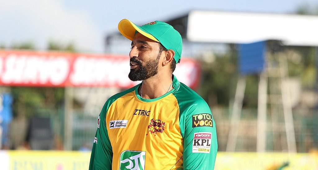 Robin Uthappa (KPL  Official Twitter handle)