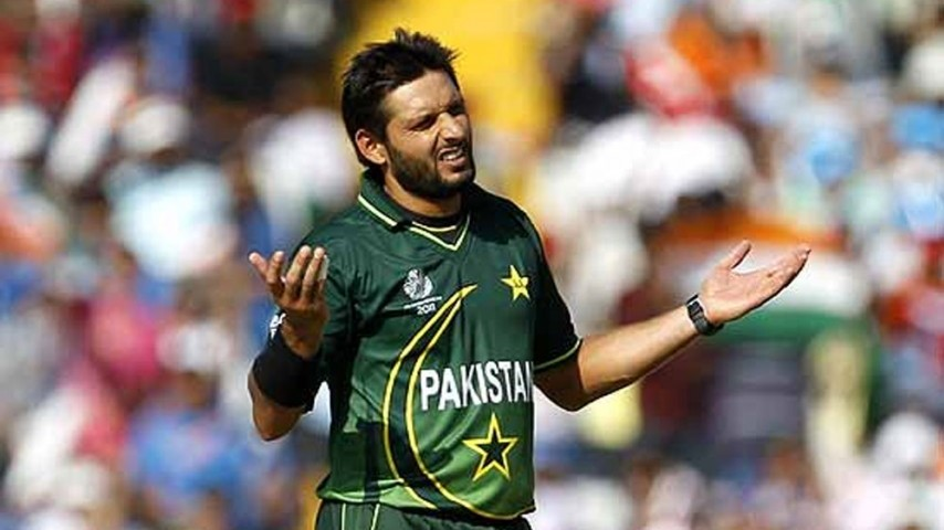 Shahid Afridi says 'India got lucky' after fan points out his poor World Cup stats