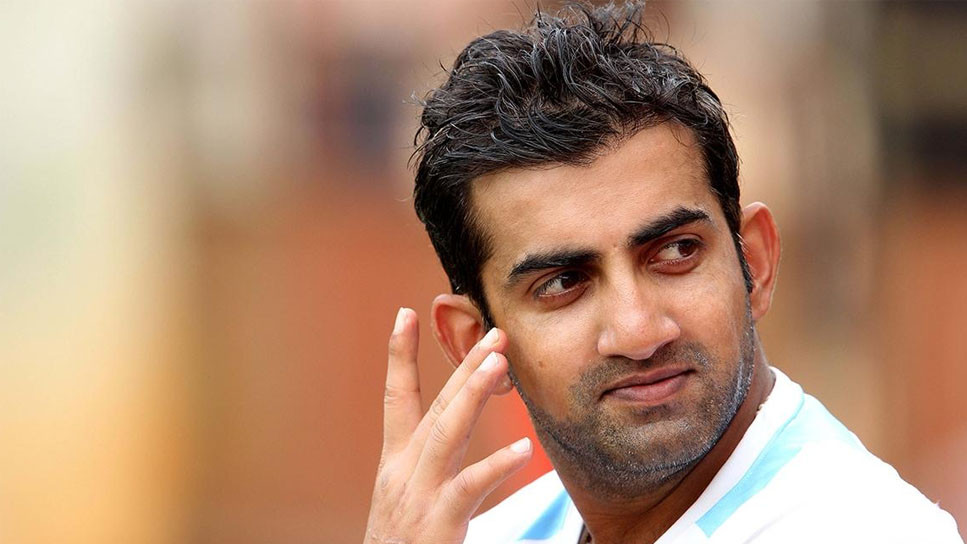 Gautam Gambhir admits that he could've smiled a bit more on the field