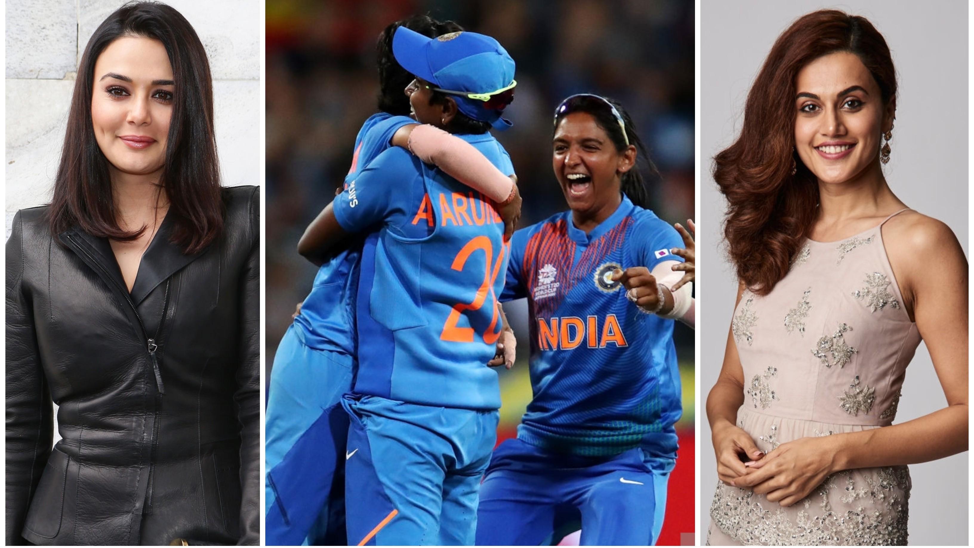 Women's T20WC 2020 : तापसी पन्नू और प्रीति जिंटा ने बांग्लादेश के खिलाफ जीत पर भारतीय टीम को दी बधाई