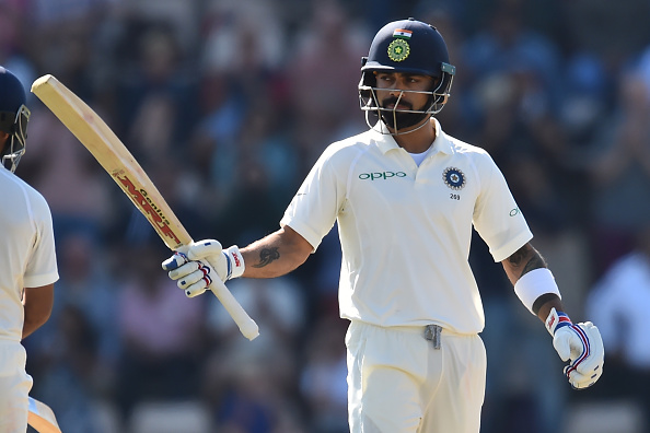 Virat Kohli's 58 in the fourth innings of Southampton Test went in vain | Getty