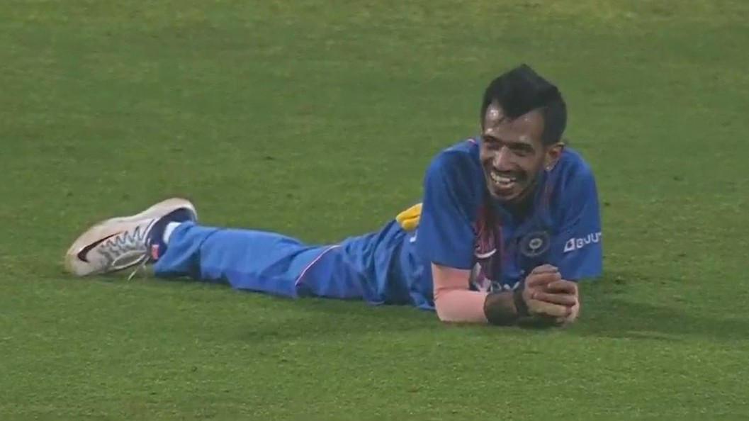 IND v SL 2020: WATCH - Yuzvendra Chahal's hilarious reaction after effecting a run out with direct-hit