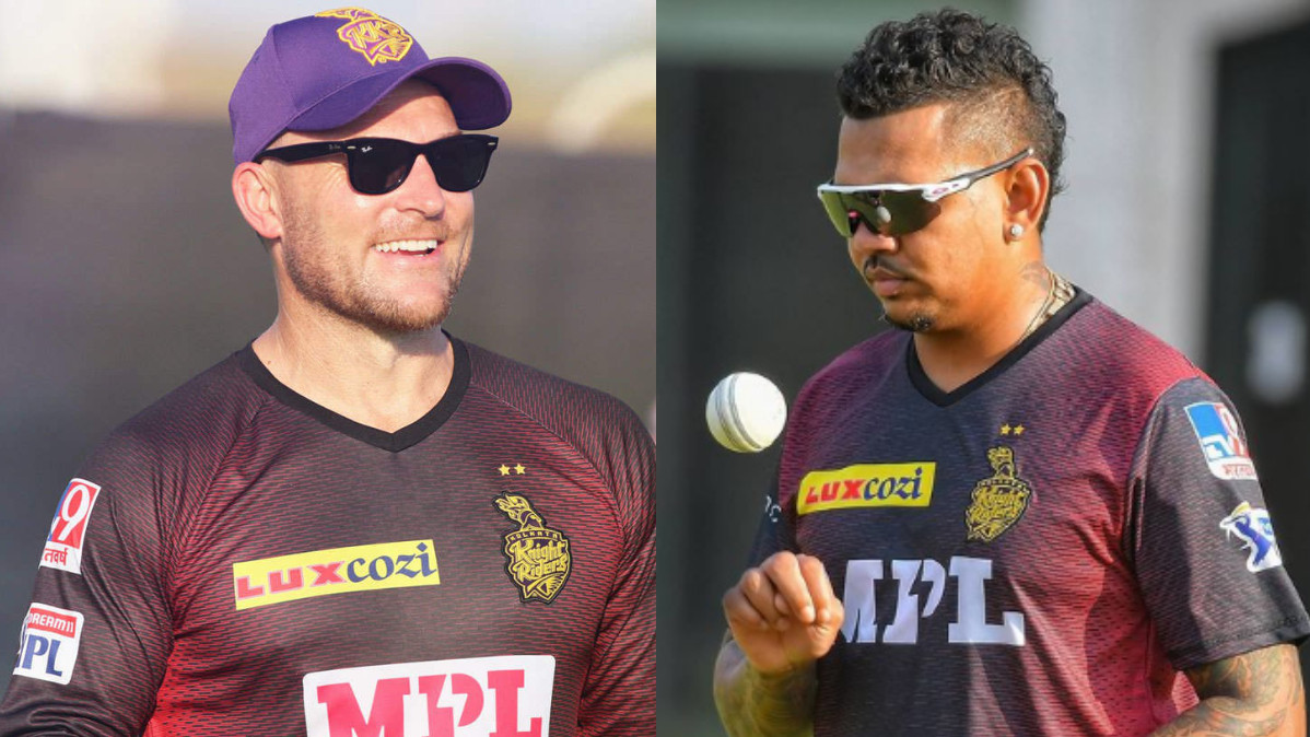 IPL 2021: He will come in our calculations for upcoming games- KKR coach McCullum on Sunil Narine