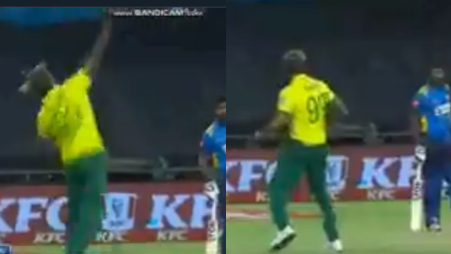 SA v SL 2019: WATCH- Imran Tahir hilariously celebrates prematurely before South Africa win