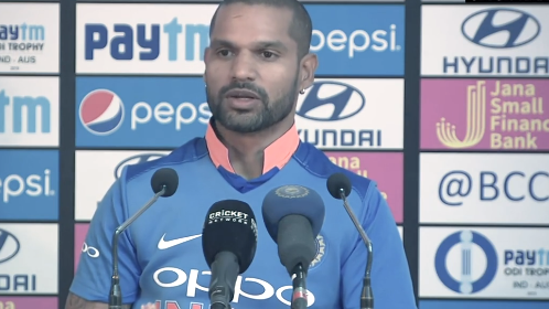 IND v AUS 2019: We didn't expect dew in Mohali, says Shikhar Dhawan