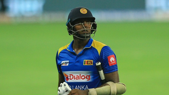 Angelo Mathews dropped from Sri Lanka's limited overs set-up