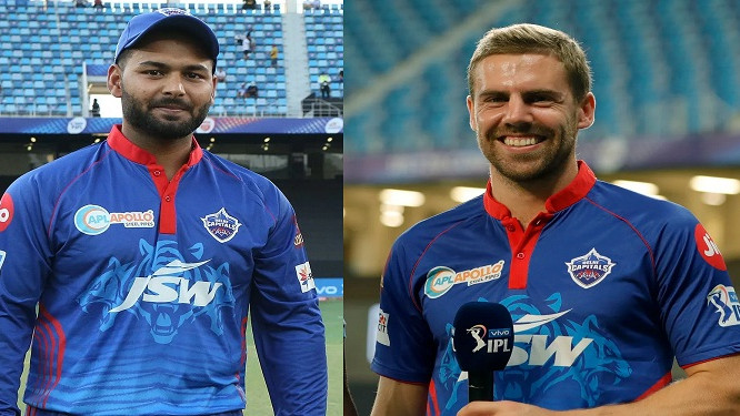 """IPL 2021: """"It's easy to communicate with him"""", Anrich Nortje says he enjoys playing under Rishabh Pant"""