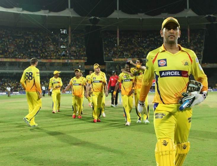 MS Dhoni leading the Chennai Super Kings | AFP