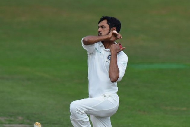 Shahbaz Nadeem became the 296th Test cricketer for India