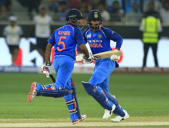 Rahul and Rayudu were in full flow against Afghanistan on Tuesday | Getty
