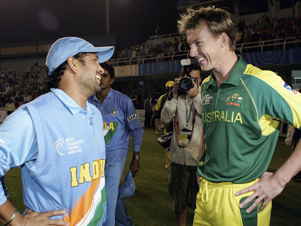 Brett Lee backed up Sachin Tendulkar's call for changing rules to support bowlers | Getty