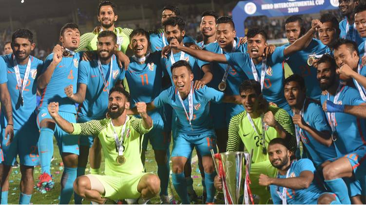 Indian cricket fraternity lauds Indian football team as they lift the Intercontinental Cup
