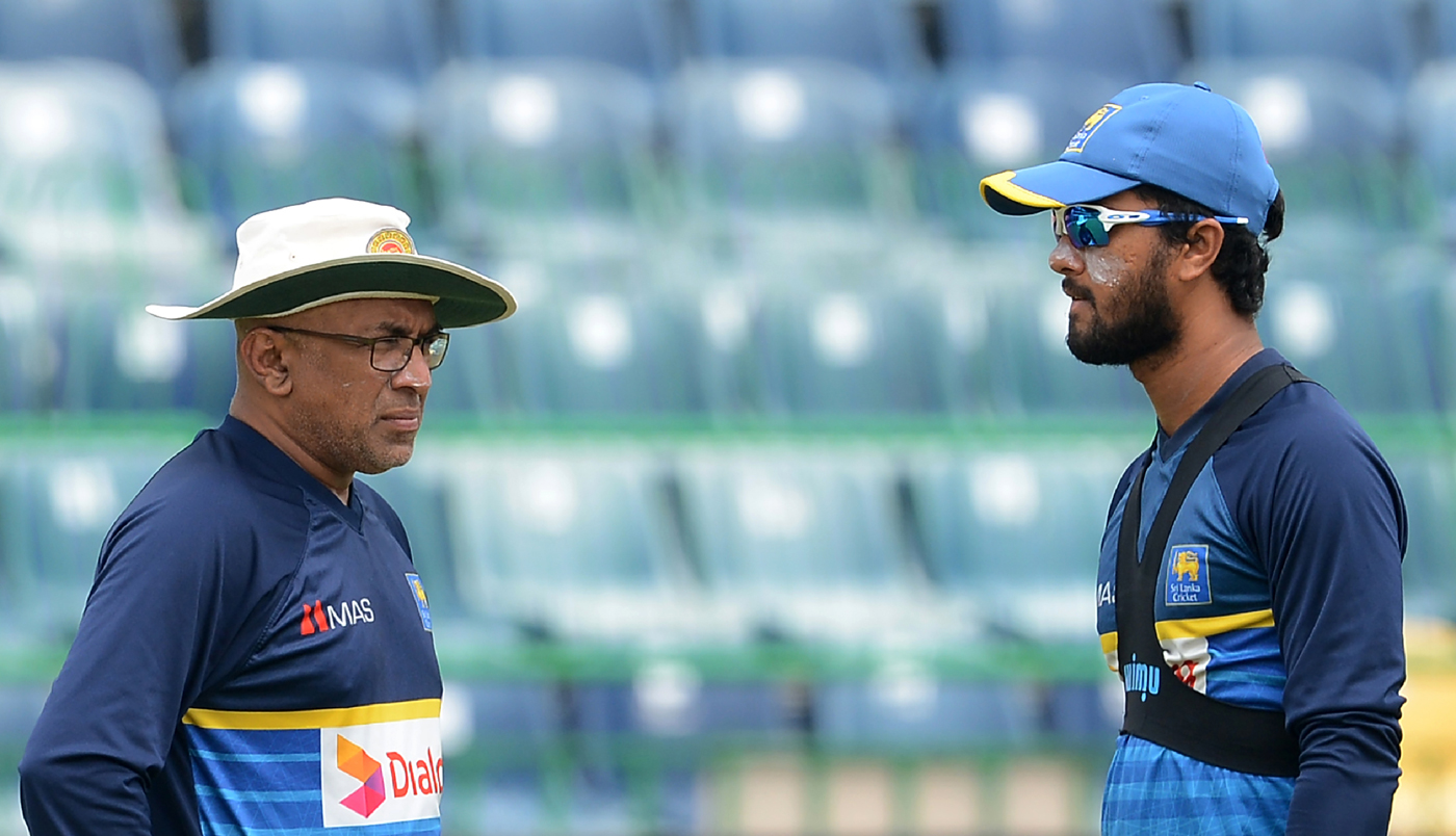 Chandika Hathurusingha and Dinesh Chandimal fined for their offence in West Indies | Getty Inages