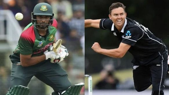 NZ v BAN 2019: Trent Boult and Mahmudullah found in breach of ICC Code of Conduct, fined