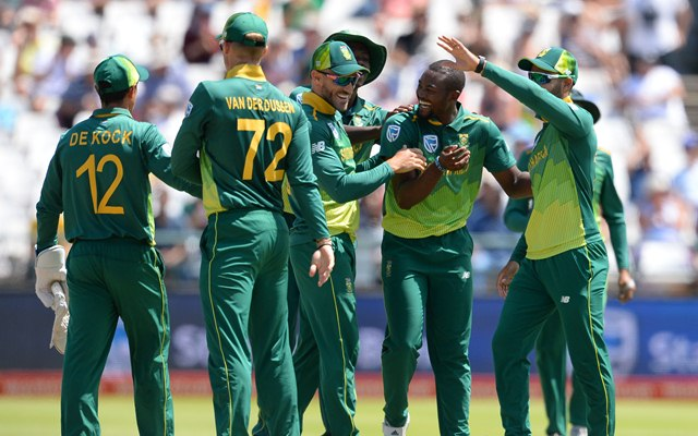 South Africa celebrates ODI series win over Pakistan in Cape Town | Getty Images