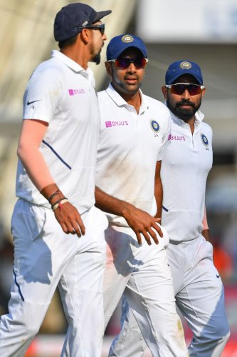 The current Indian bowling attack is the best ever the nation has had in Tests | AFP