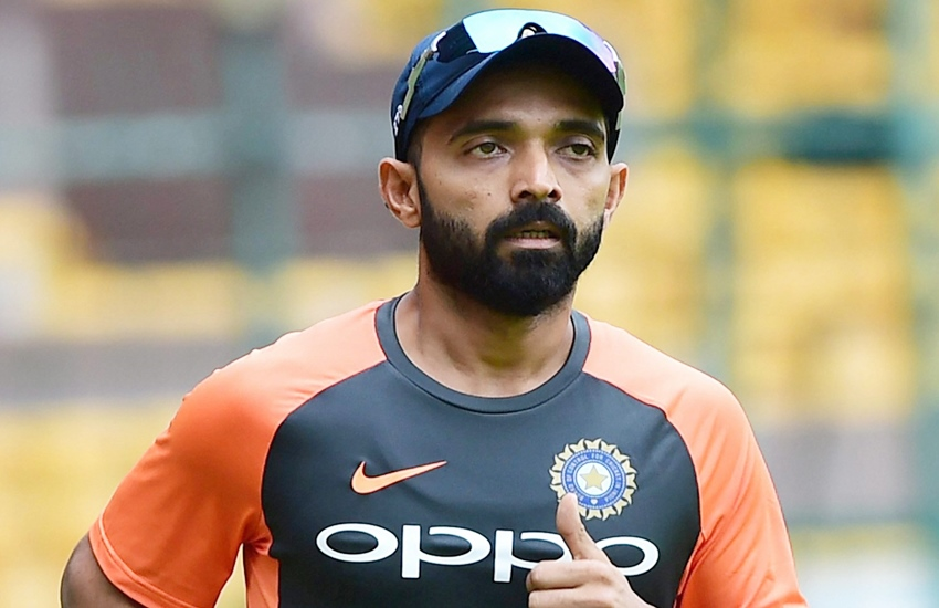 Ajinkya Rahane may well play four list A games for Mumbai. | Twitter