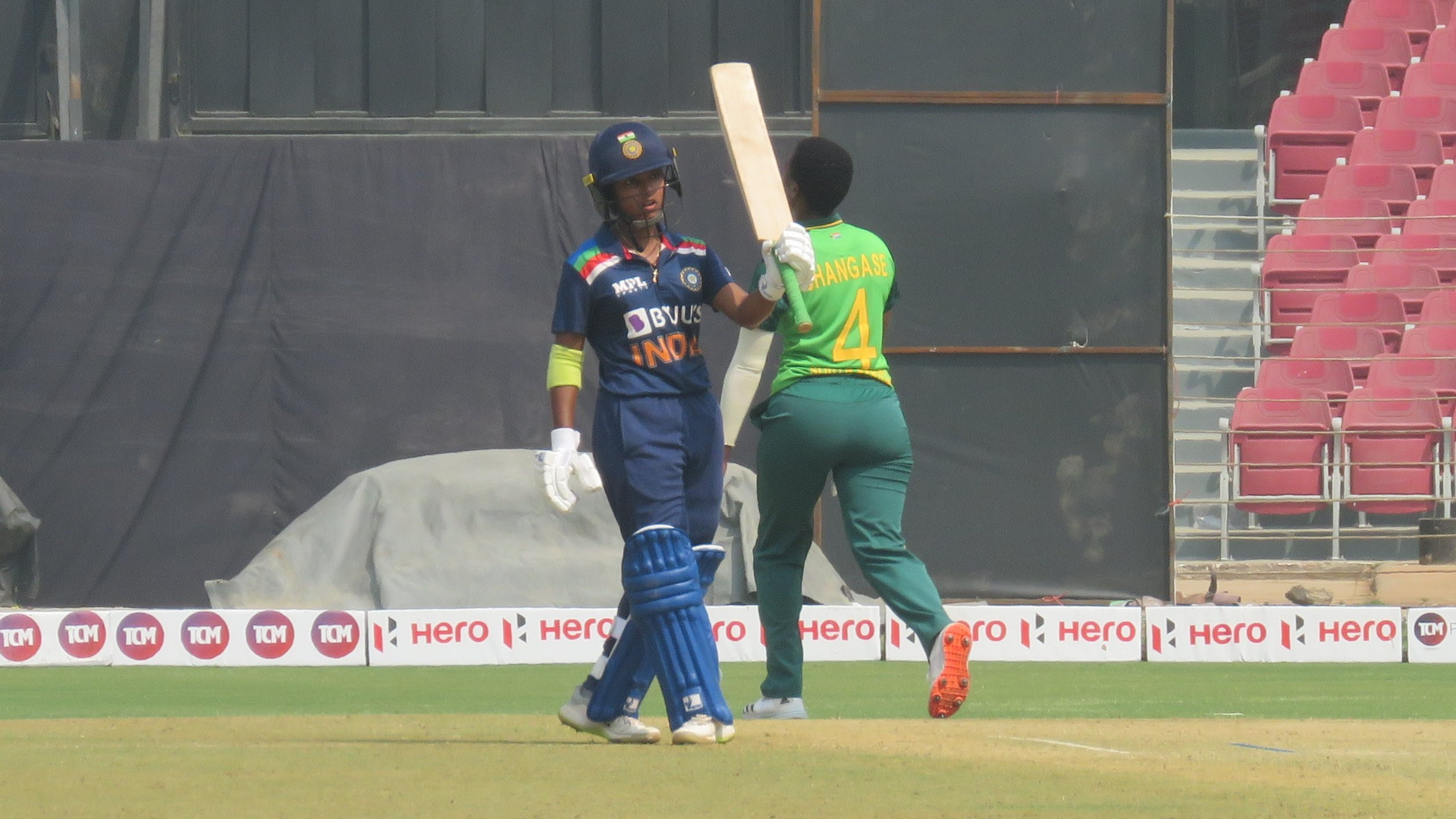 Punam Raut top-scored for India women with 77 | BCCI Women