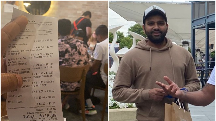 AUS v IND 2020-21: Fans trend '#IStandWithRohit' after photo of Rohit Sharma allegedly consuming beef goes viral
