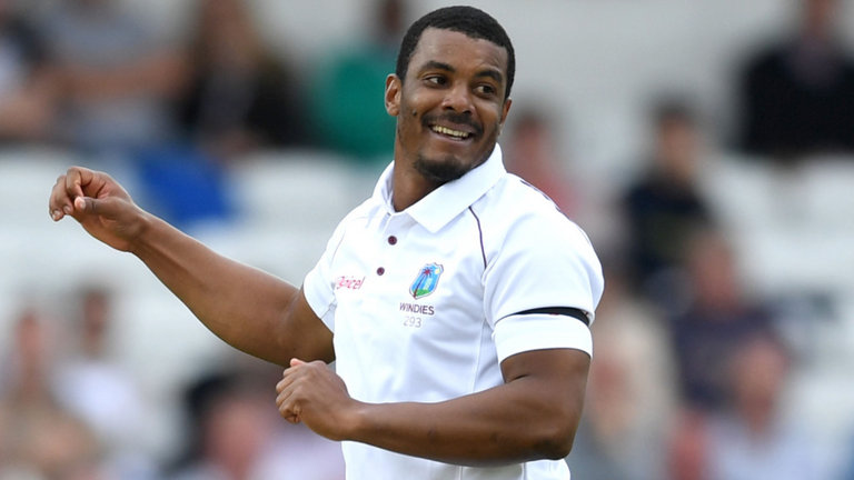 Shannon Gabriel moves upto 12th position in the ICC Test Player Rankings for bowlers
