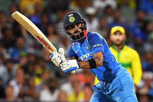 Kohli scored his 39th ODI century | Getty
