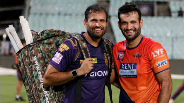 Yusuf Pathan accepts Fitness challenge, passes it onto Irfan Pathan and Piyush Chawla