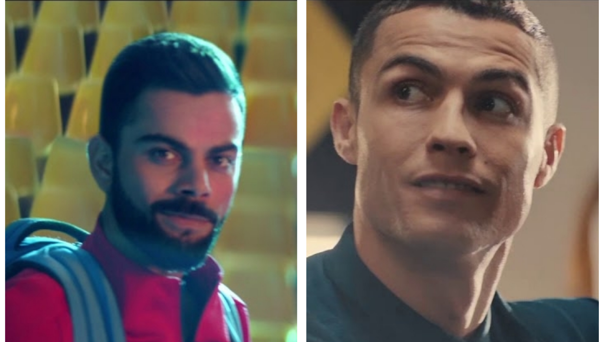 WATCH: Virat Kohli and Cristiano Ronaldo appear in a commercial together