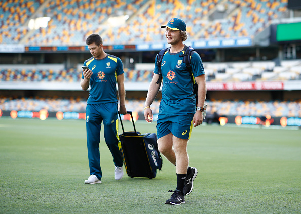 Will Pucovski along with skipper Tim Paine | Getty