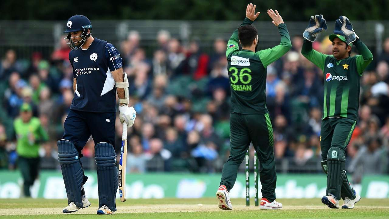 SCO vs PAK 2018 : T20I series - Statistical Highlights