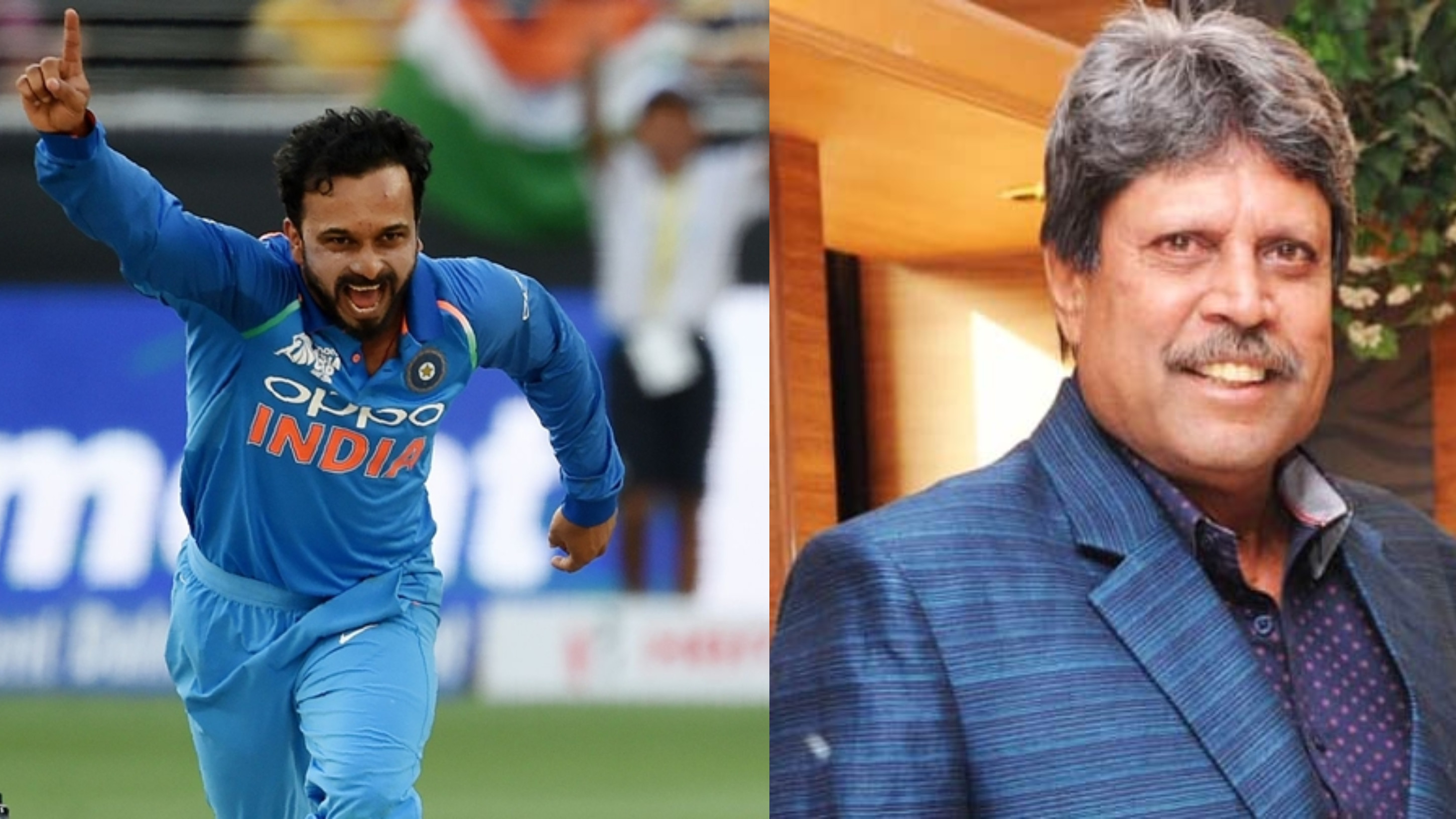 Kapil Dev rates Kedar Jadhav as 'special kind of bowler'
