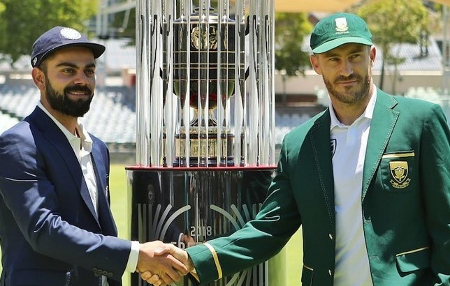 SA v IND 2018: Watch – Virat Kohli, Faf Du Plessis unveil 'Freedom Series Trophy' in picturesque Newlands