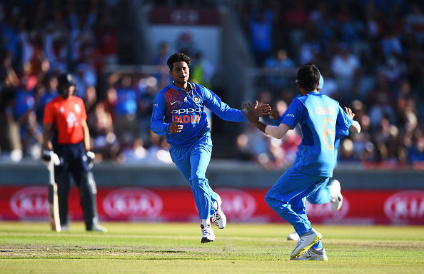 Ganguly suggested Kuldeep and Chahal to focus on the series decider in Bristol | Getty
