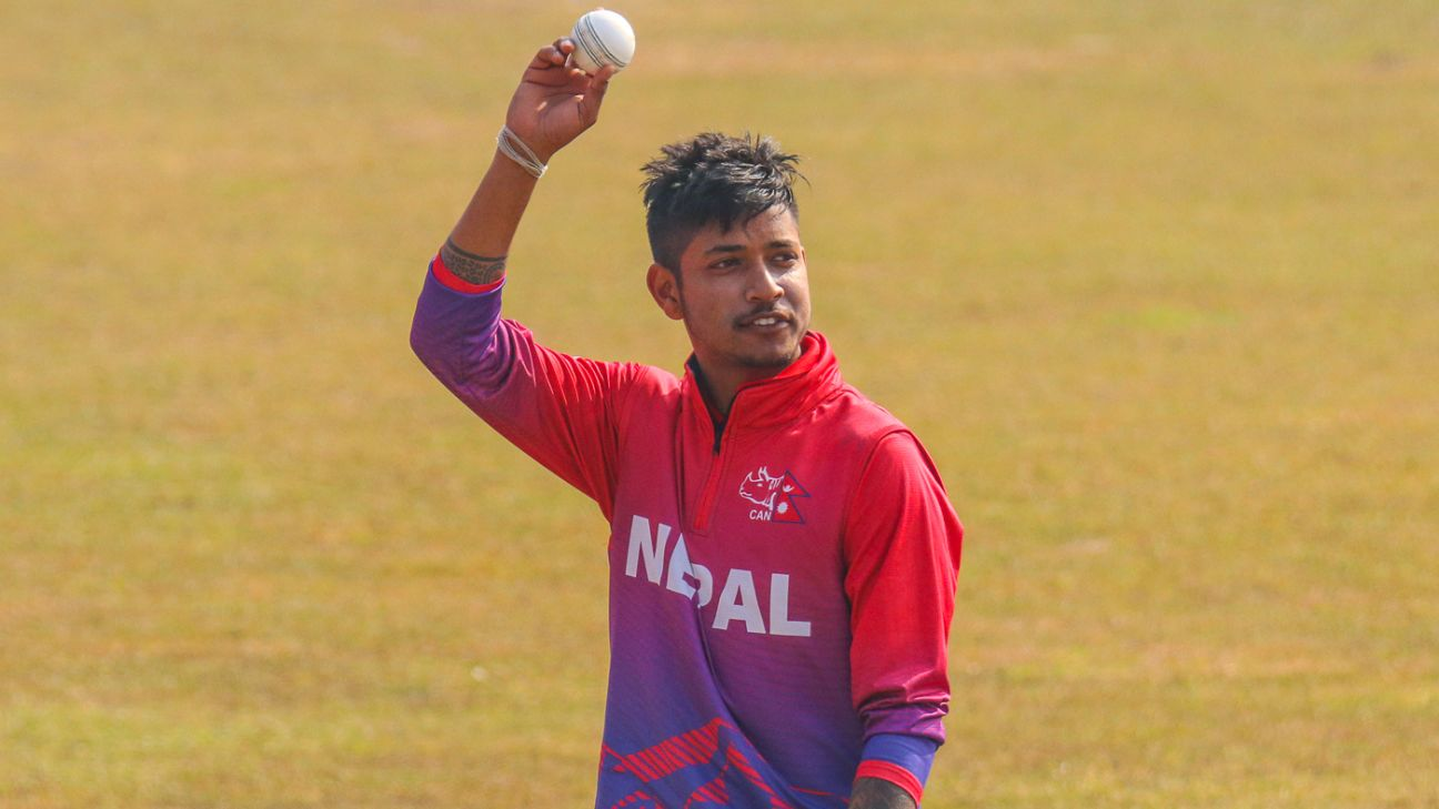 Sandeep Lamichhane ruled out of T20 Blast because of visa and passport issues   AFP