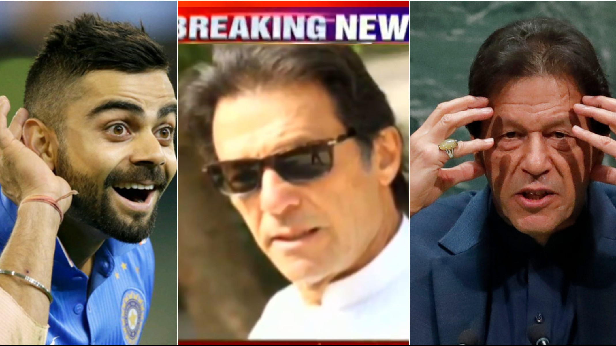 "Pakistani channel trolled for showing Imran Khan's win over Virat Kohli in ICC poll as ""breaking news"""