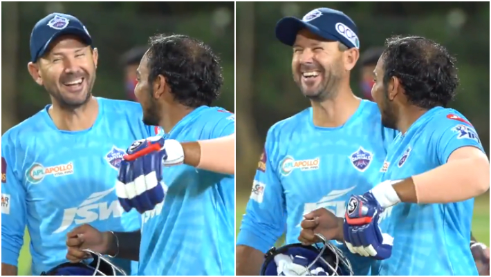 Ricky Ponting and Prithvi Shaw | Twitter