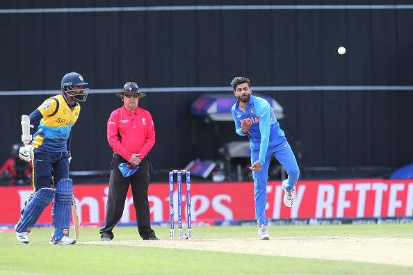 Jadeja returned with the figures of 1/40 in 10 overs in India's last league game against Sri Lanka | Getty