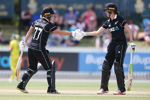 Sophie Devine (L) to replace Amy Satterthwaite (R) in the upcoming South Africa series   Getty