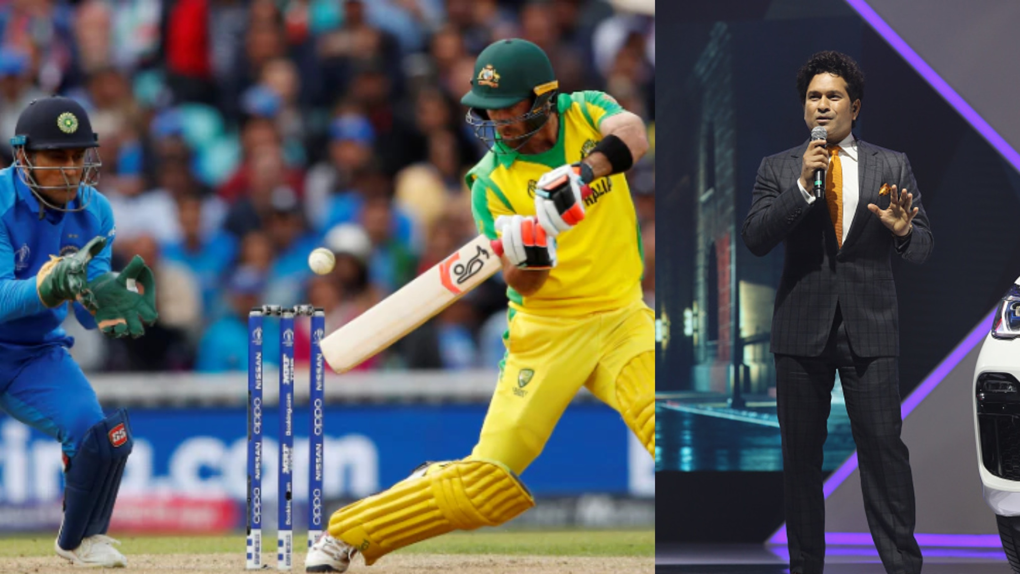 CWC 2019: Sachin Tendulkar surprised by Australia's tactics to hold back Maxwell in stiff chase
