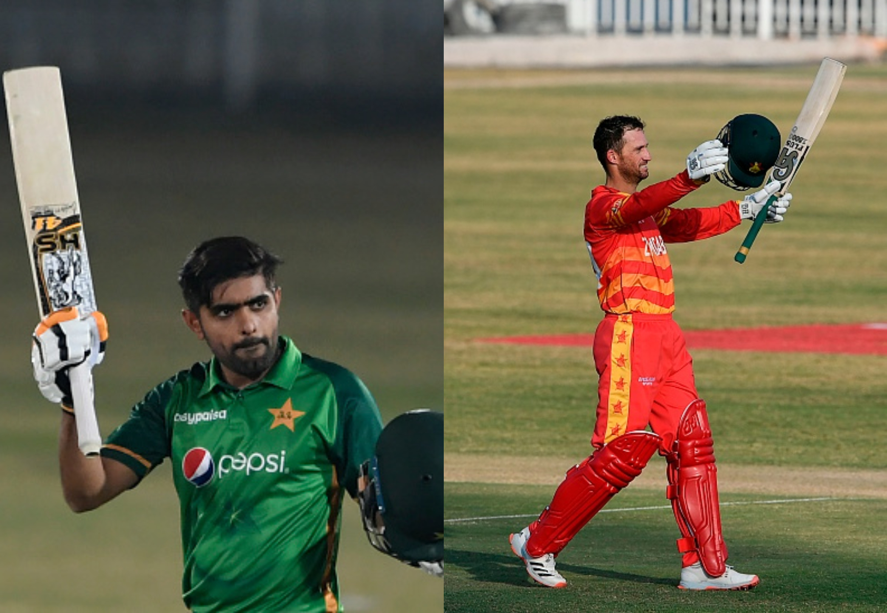 Babar Azam and Sean Williams scored centuries for their respective teams   Getty