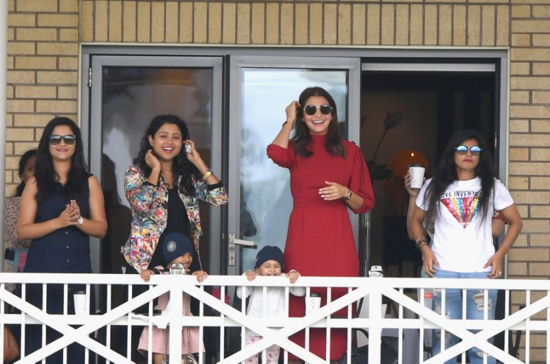 the wives and girlfriends of Indian cricketers are allowed to stay with them for up to two weeks on foreign tours | Getty Images
