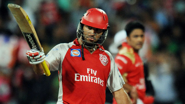 Yuvraj Singh has led KXIP previously in IPL | AFP