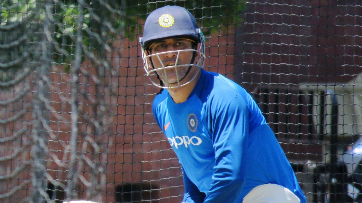AUS v IND 2018-19: PICS- MS Dhoni goes through drills in optional practice session ahead of 1st ODI